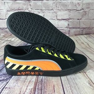 "Puma ""Hazard"" Shocking orange/Black Casual"